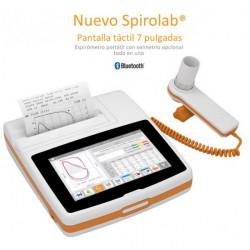 Espirómetro Spirolab New MIR con pantalla táctil, impresora y Software profecional