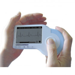Electrocardiógrafo MD100 manual con software