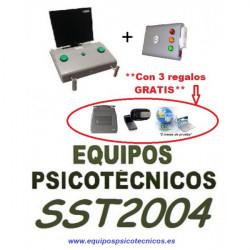 Equipo Psicotécnico LND100 Lndeter, Deslumbrómetro, Webcam, Tableta de Firmas y Software DGT
